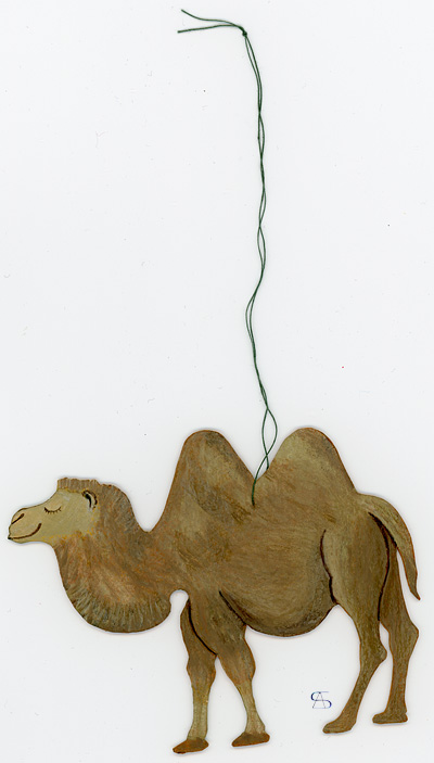 christmas decoration camel front